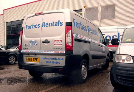 New Toyota Proace Vans for our Field Service Engineers