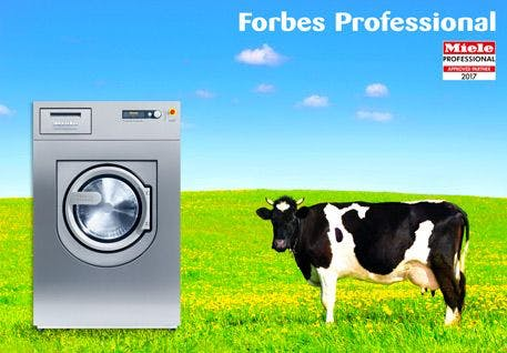Dairies Cut Costs with Re-Usable Udder Wipes and In-House Laundry Operations.