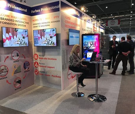 Digital Signage is our Showstopper at Hotelympia