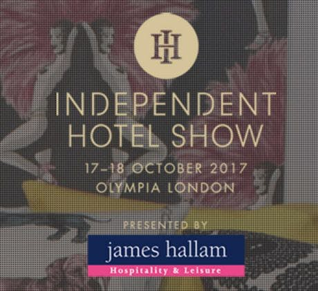 Visit us at the Independent Hotel Show, 17-18th October 2017.