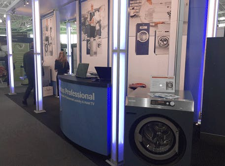 Our Complete Care Rental Solutions for Commercial Washers and Hotel Televisions Prove a Success at the Independent Hotel Show