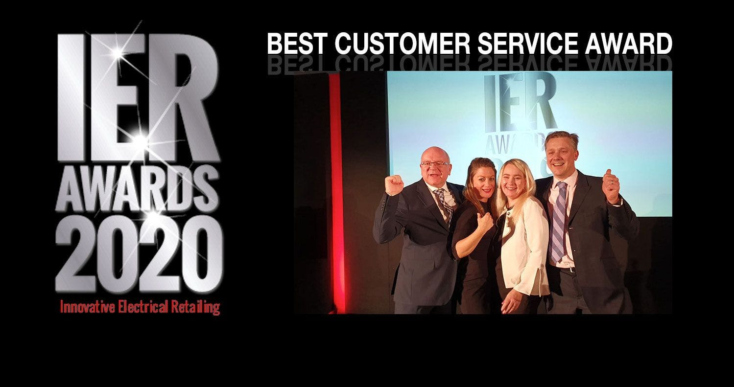 Forbes is delighted to win IER's Best Customer Service Award.