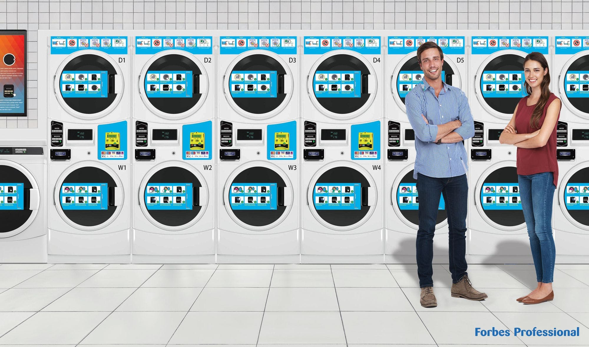Forbes Professional advises on the latest trends in student laundry.