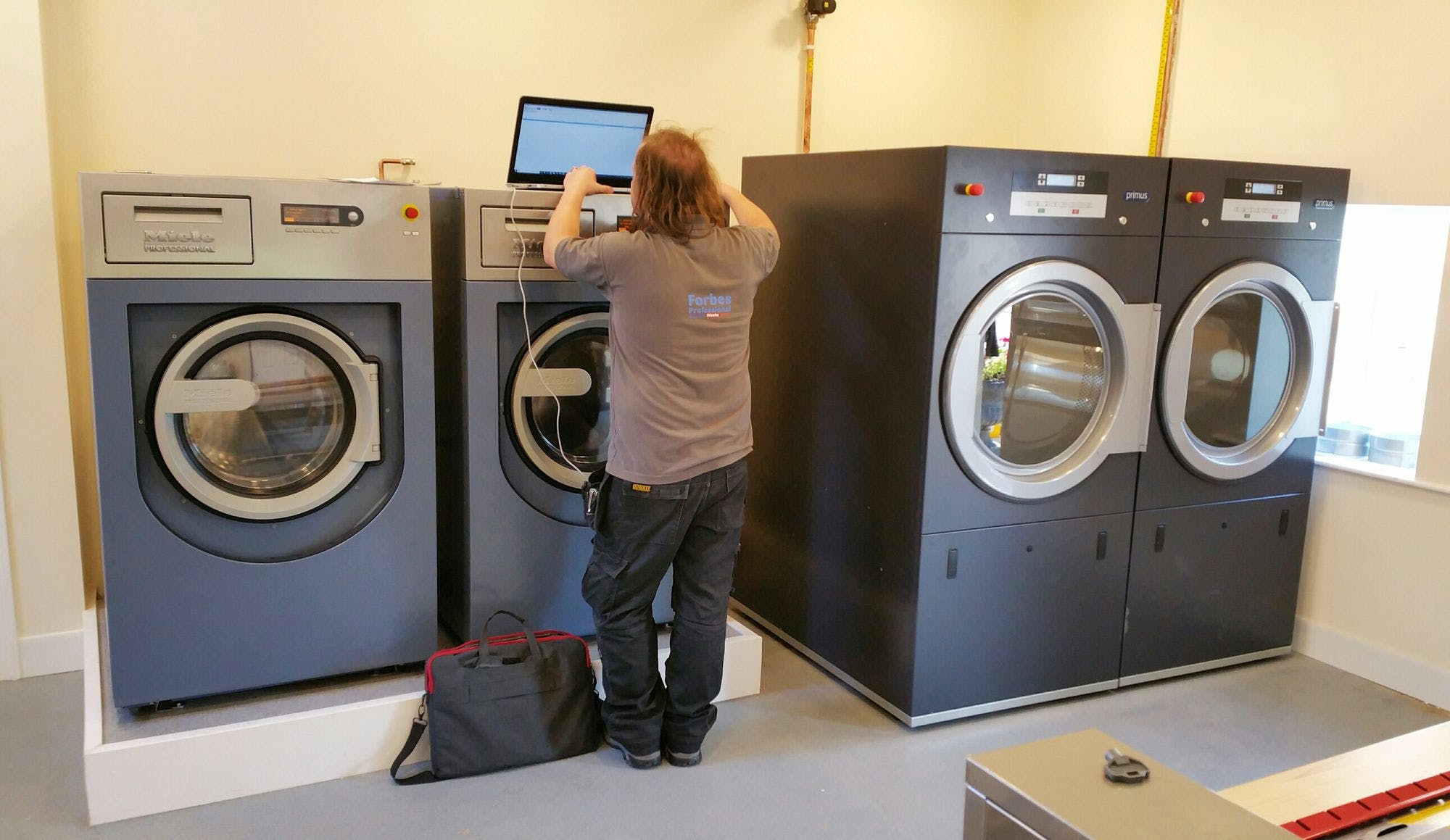 Forbes helps the care industry adhere to stringent laundry regulations.
