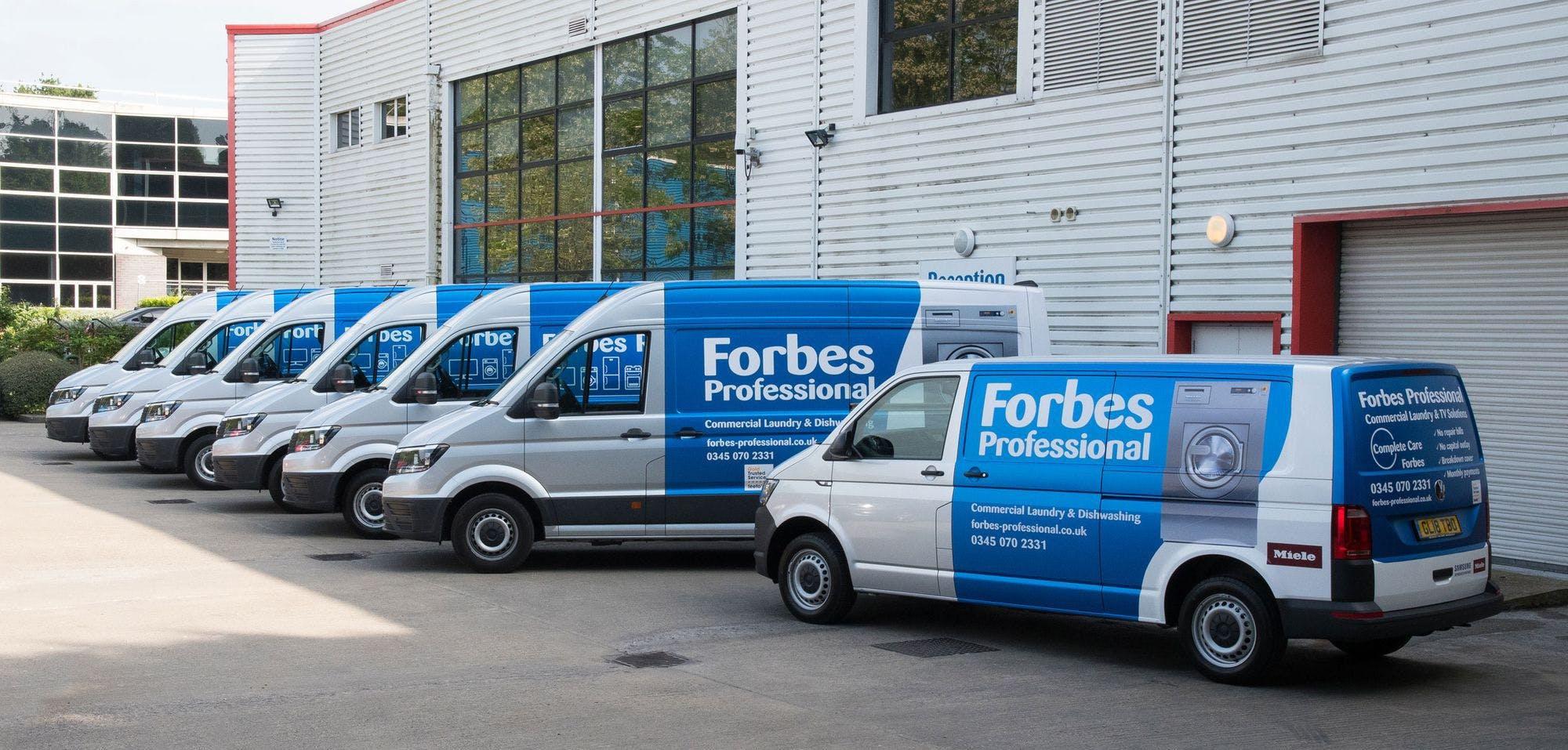 Forbes acquires Claridge Electricals' rental accounts