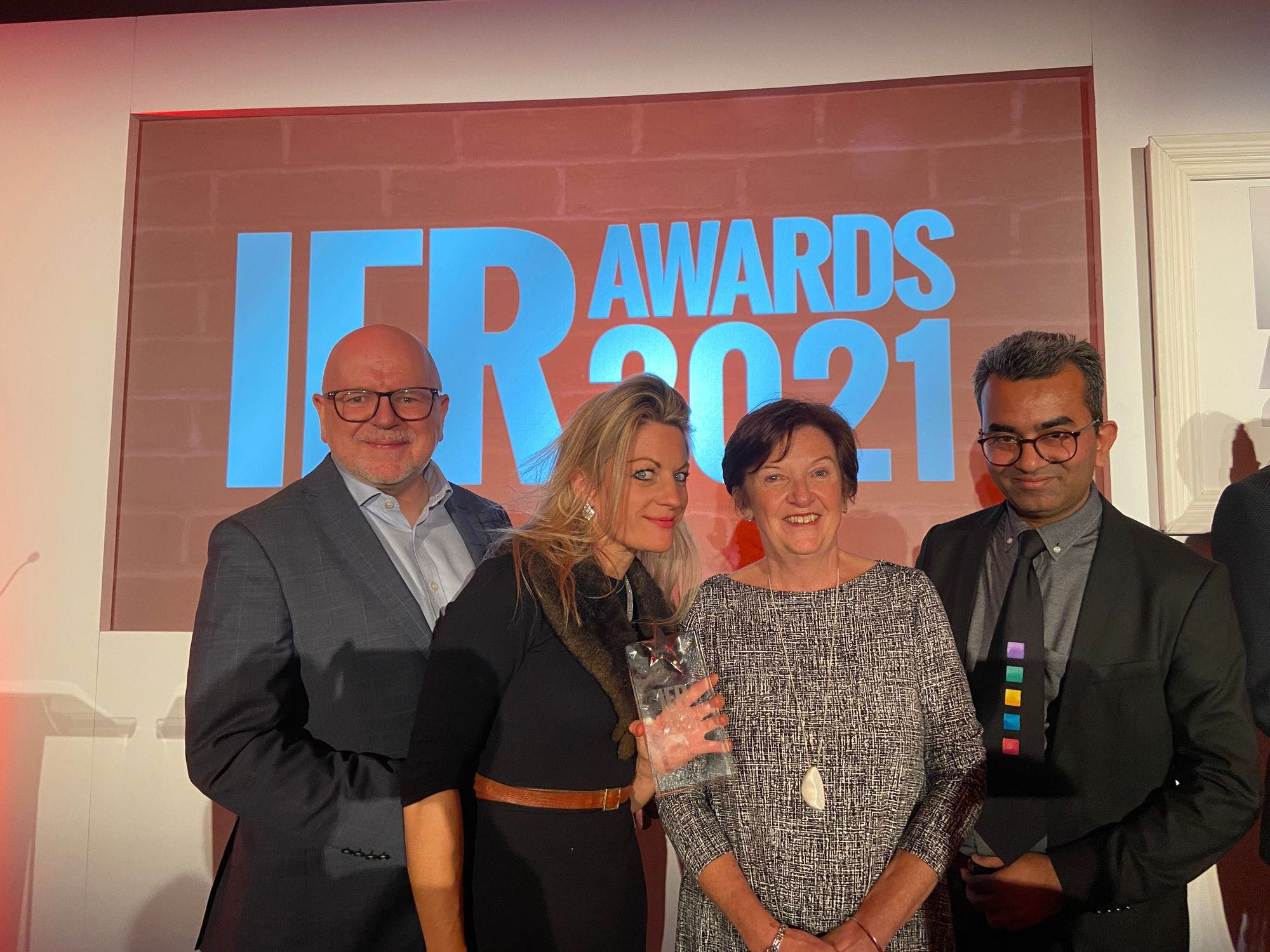 Forbes is beyond thrilled to take home another prestigious IER Award.